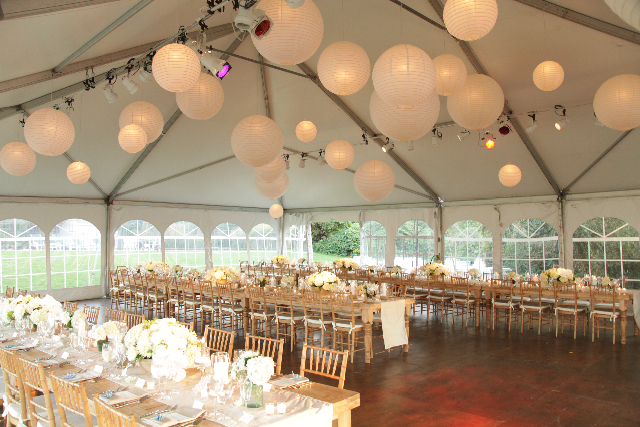 Farm Tables Tented I