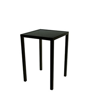 Black End Table 18