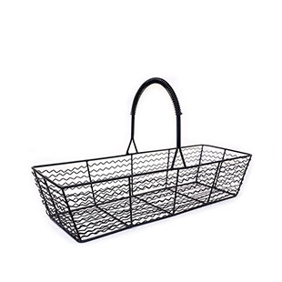Black Wire Basket Lg