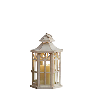 Antique White Lantern 10