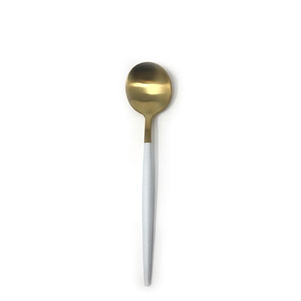 Goa Gold White Spoon 7.5