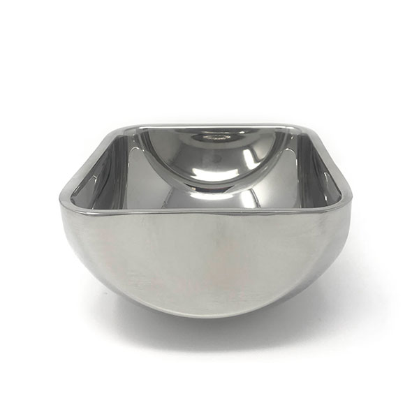 Mirror S/S Sq Double Wall Bowl 7