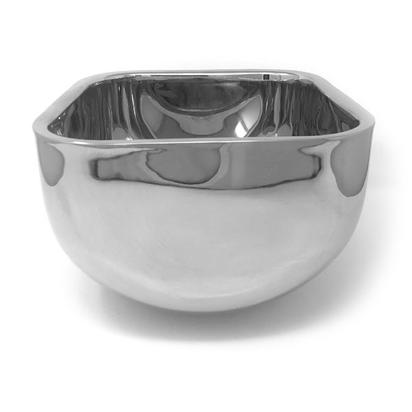 Mirror S/S Sq Double Wall Bowl 10