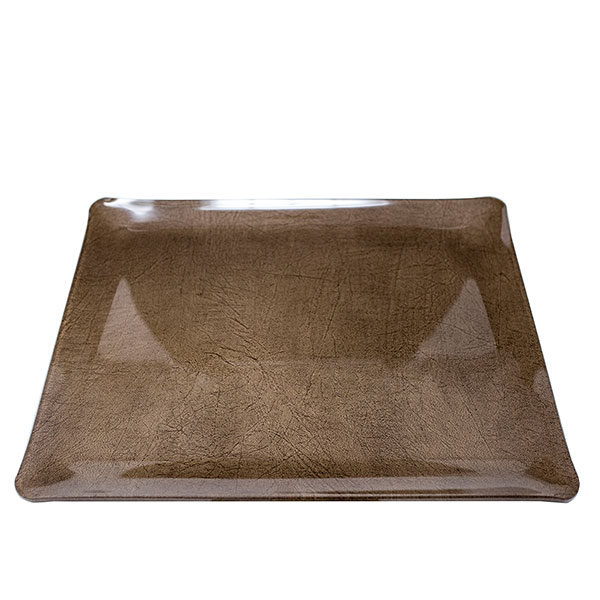 Marron Vogue Tray 14.5