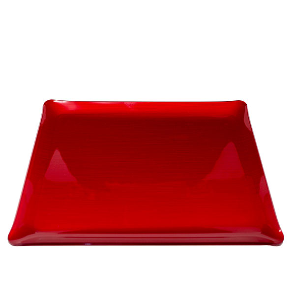 Red Vogue Tray 14.5