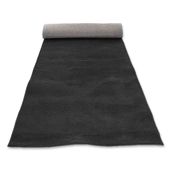 Black Carpet Runner (20' X 4')